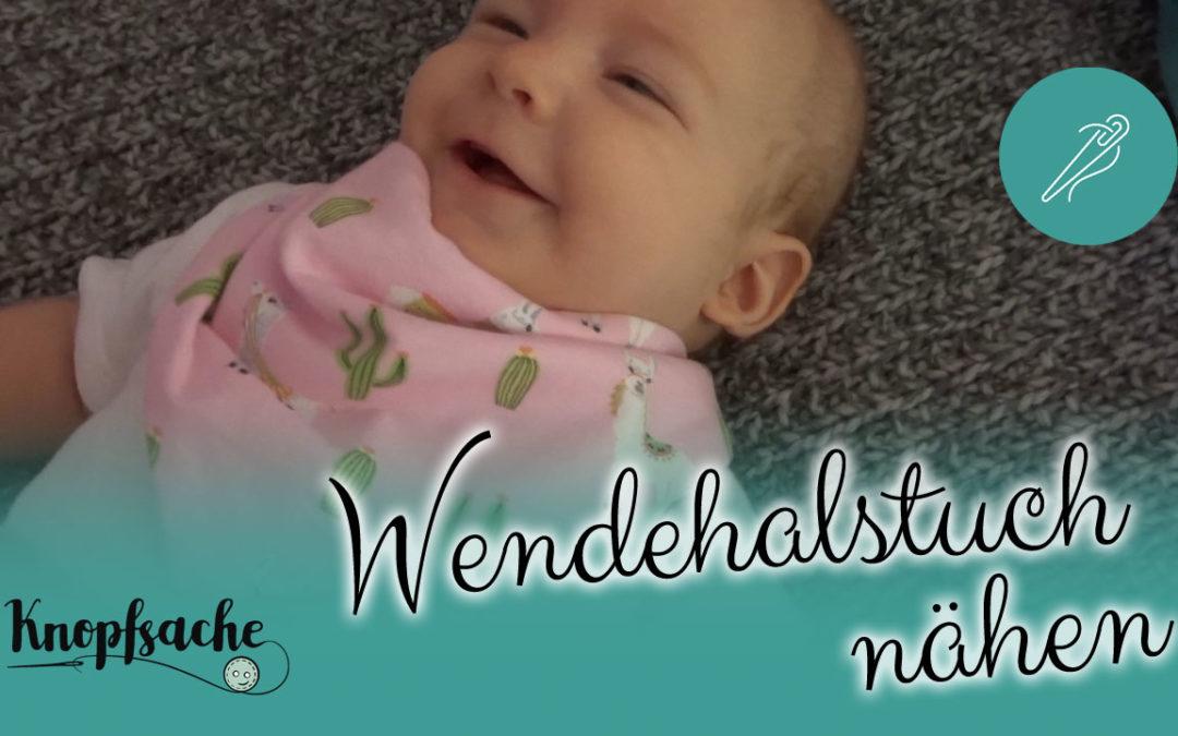 Wendehalstuch nähen