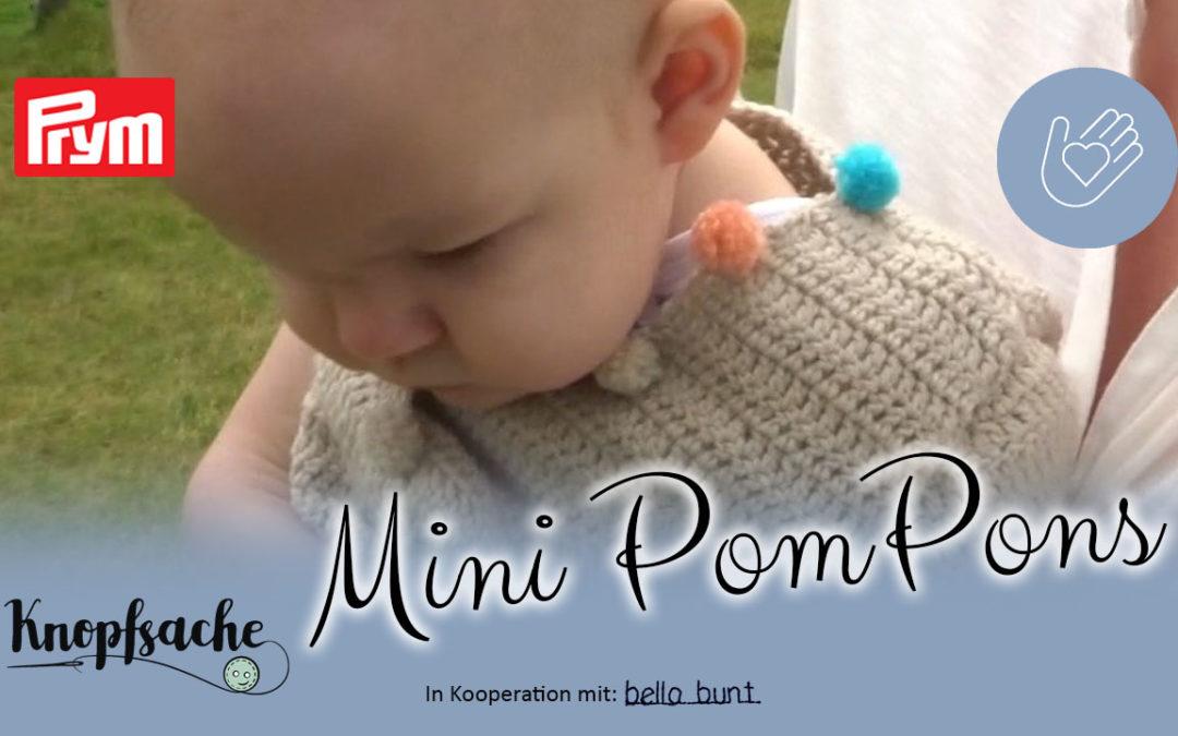 Mini PomPons selbermachen