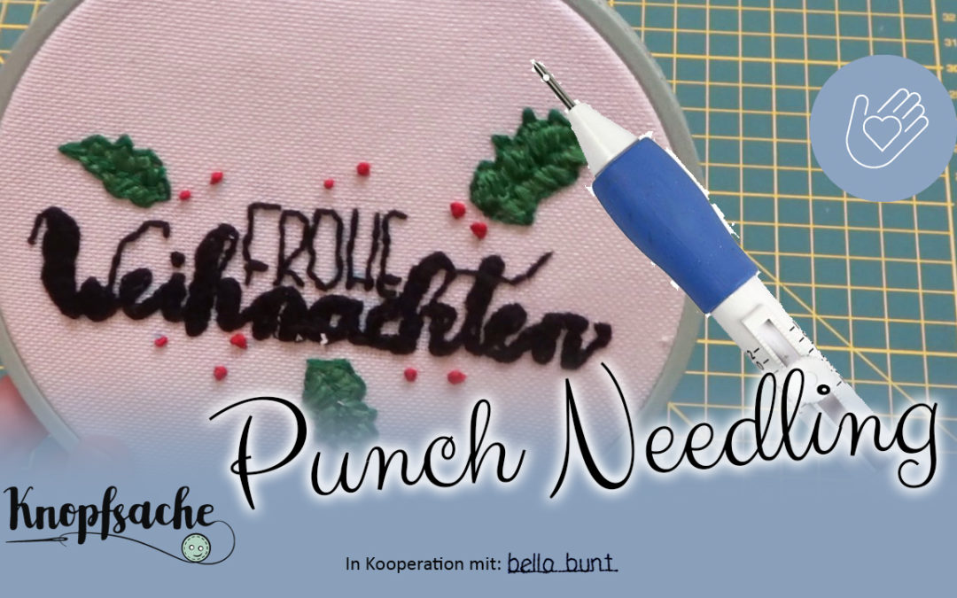 Punch Needle Technik
