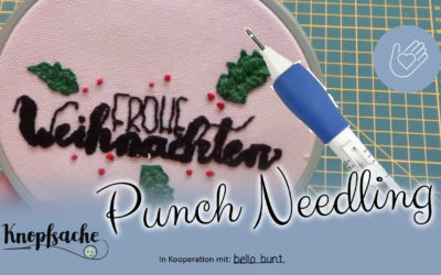 Punch Needle Technik