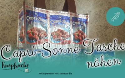 Capri-Sonnen-Tasche nähen