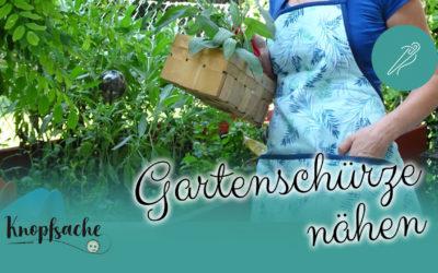 Gartenschürze nähen